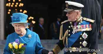 Queen will say private farewell to Prince Philip in last moment before funeral