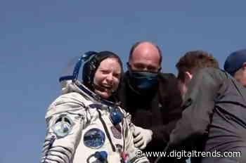 NASA astronaut Kate Rubins safely returns to Earth