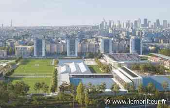 Colombes : le stade Yves-du-Manoir se transforme pour les JO - Moniteur