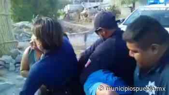 Acusan a policías de Zinacatepec de uso excesivo de la fuerza en detención - Municipios Puebla