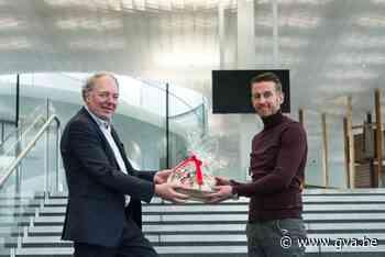 Gert Van Cauwenbergh van Fingo is beste Antwerpse Jonge Ondernemer - Gazet van Antwerpen