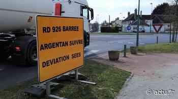 Près d'Argentan, la RD 926 barrée entre Sai et Silly-en-Gouffern à partir de jeudi - actu.fr
