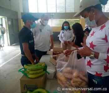 Arrancó el PAE en San Juan Nepomuceno, bajo protocolos de bioseguridad - El Universal - Colombia