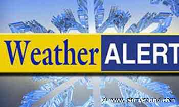 A snowfall warning has ended for Bayfield Inlet — Dunchurch area - parrysound.com