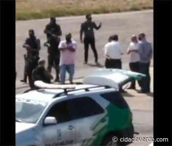 Vídeo: suspeitos de matar empresário de Parnaíba chegam ao Piauí - Parnaiba - Cidadeverde.com
