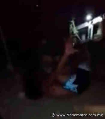 Dan paliza a presunto ratero en Puerto Escondido - Diario Marca de Oaxaca