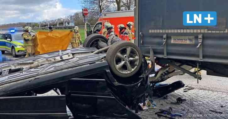 Reinfeld: Tödlicher Unfall auf der A-1-Raststätte Trave - Lübecker Nachrichten