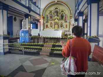 Cultos e missas serão autorizados a partir de domingo em Itabira - DeFato Online