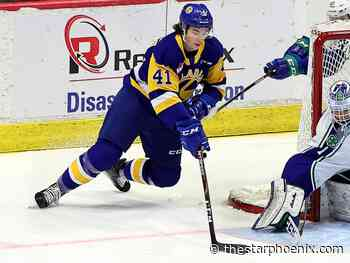 WHL Regina hub: Rhinehart nets first WHL career hat-trick as Saskatoon Blades down Regina Pats 4-1 - Saskatoon StarPhoenix