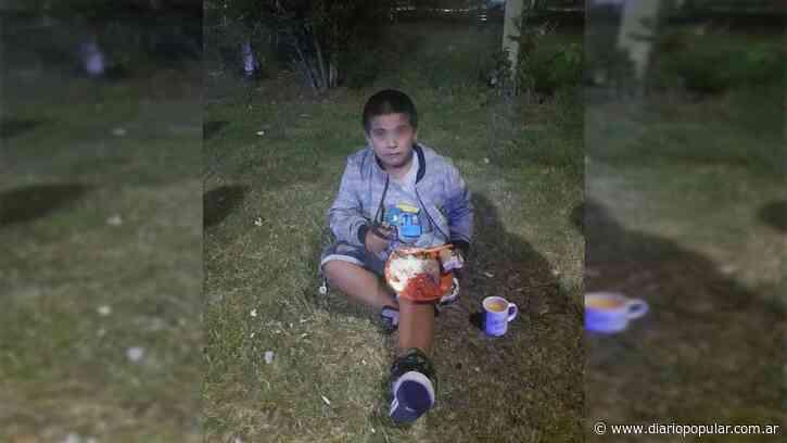 Grand Bourg: abandonan a un nene de 7 años en una plaza - Popular