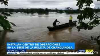 Instalan centro de operaciones por lluvias en Changuinola - TVN Panamá