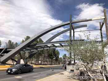 Avanza 40% obra de puente que conectará parque reliz y encino - La Opcion