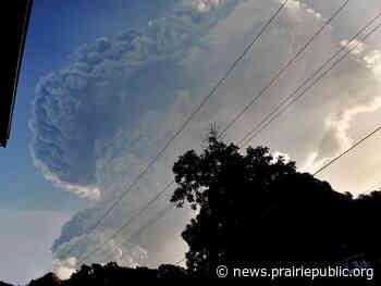 La Soufrière Volcano: A Growing Humanitarian Crisis - Prairie Public Broadcasting