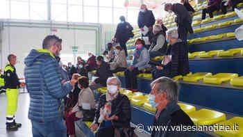 Vaccini, sei medici di famiglia impegnati al PalaGiletti di Ponzone per circa 240 over 70 FOTO - valsesianotizie.it
