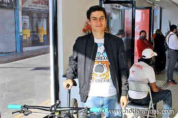 Representa José Antonio López al ciclismo arandense - NotiArandas