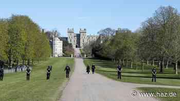 Vor Trauerfeier für Prinz Philip: Schloss Windsor weiträumig abgesperrt
