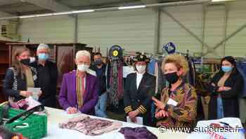 Soustons : la ministre Brigitte Klinkert a visité la recyclerie Voisinage - Sud Ouest
