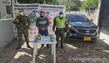 Sujeto fue capturado en Suaza traficando pasta base de cocaína - Huila