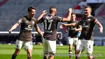 2. Liga: St. Pauli fertigt Würzburg ab und rückt an Spitze heran