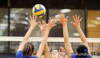 Volleyball féminin : FRANCE AVENIR 2024 / MOUGINS Gymnase du COSEC mercredi 7 avril 2021 - Unidivers
