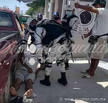 Un hombre convulsiona y se lesiona al caer en Ticul - El Diario de Yucatán
