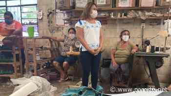 Carmita González destaca labor de las mujeres zapateras de Ticul - PorEsto