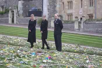 Wessexes view public tributes to Duke of Edinburgh - Windsor Observer
