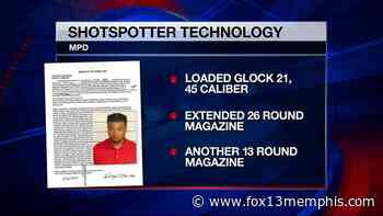 MPD makes first arrest using new ShotSpotter technology - FOX13 Memphis