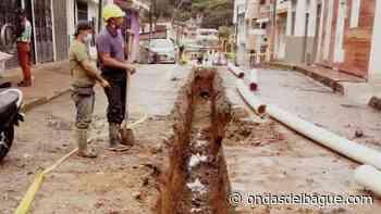 63 metros de tubería fueron instalados en el barrio Ancón - Malabar - Emisora Ondas de Ibagué, 1470 AM
