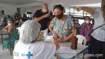 Abreu e Lima anuncia vacinação de pessoas com idade a partir de 62 anos contra a Covid-19 - G1