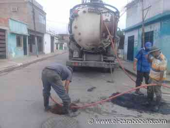 Parcialmente solventadas fugas de aguas negras en sector Samanes Triunfo de Naguanagua - El Carabobeño
