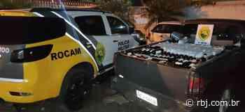 Polícia Militar faz apreensão de vinho contrabandeado em Coronel Vivida e Francisco Beltrão - RBJ