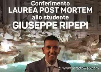 Reggio Calabria, il Dipartimento di Agraria dell'Università Mediterranea consegna la Laurea post mortem a Giuseppe Ripepi - Stretto web