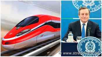 """Alta Velocità Salerno-Reggio Calabria, Draghi dà l'ok: """"saranno usati i fondi del Pnrr"""" - Stretto web"""
