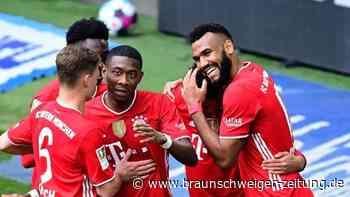 3:2 in Wolfsburg - Bayern weiter auf Kurs Titelverteidigung