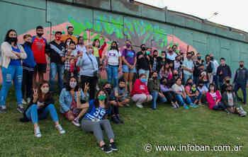 Pintaron un mural en General Pacheco para concientizar sobre la epilepsia - InfoBan
