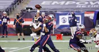 NFL: New England Patriots erleben Debakel gegen 49ers - Cam Newton desolat - SPORT1