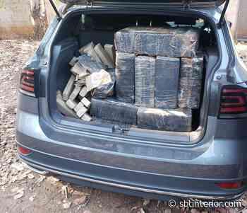Polícia apreende 370 tabletes de maconha em SUV na rodovia Assis Chateaubriand - SBT Interior