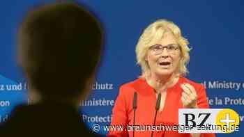 """Justizministerin: Lambrecht: Kanzleramt """"blockiert"""" beim Kampf gegen rechts"""