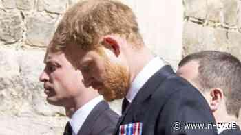 Harrys Abschied von Prinz Philip: Gespräch unter Brüdern, Gruß von der Frau