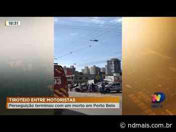 Tiroteio entre motoristas em Porto Belo - ND Mais