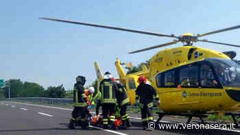 Tamponamento in A22 vicino ad Affi, un ferito elitrasportato in ospedale - VeronaSera