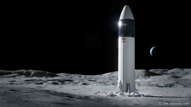 SpaceX Wins $2.9 Billion NASA Contract For Lunar Lander Being Developed In Texas