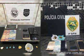 Operação conjunta combate o tráfico de drogas em Antonina - Agora Litoral