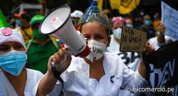 Médicos y enfermeras protestan en Venezuela para pedir vacunas contra el coronavirus | FOTOS - El Comercio Perú