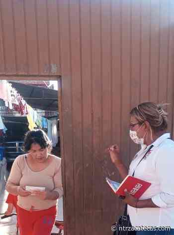 Arranca campaña Laura Segovia en Sombrerete - NTR Zacatecas .com