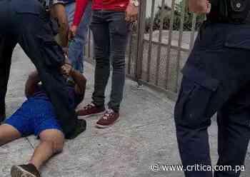 Vecinos de Betania aprehenden a sujeto implicado en robo [Video] - Crítica Panamá
