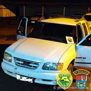 Camionete carregada com cigarros é apreendida em Terra Roxa; um adolescente conduzia o veículo - Portal Rondon