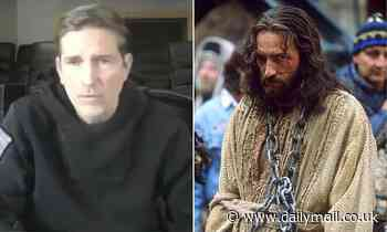 Passion of the Christ star Jim Caviezel sparks outrage promotes QAnon child blood-harvesting theory