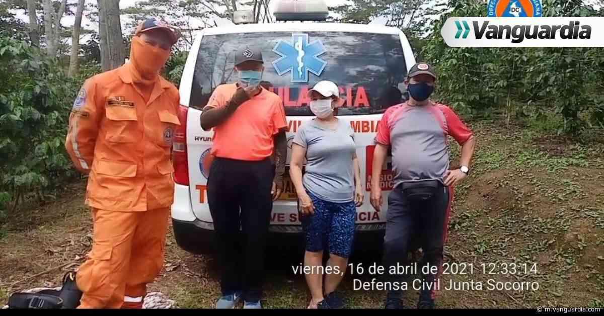 Tres adultos mayores que se habían extraviado en El Socorro fueron rescatados por la Defensa Civil - Vanguardia